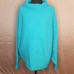 TOPSHOP Chunky Thick Turtleneck Sweater
